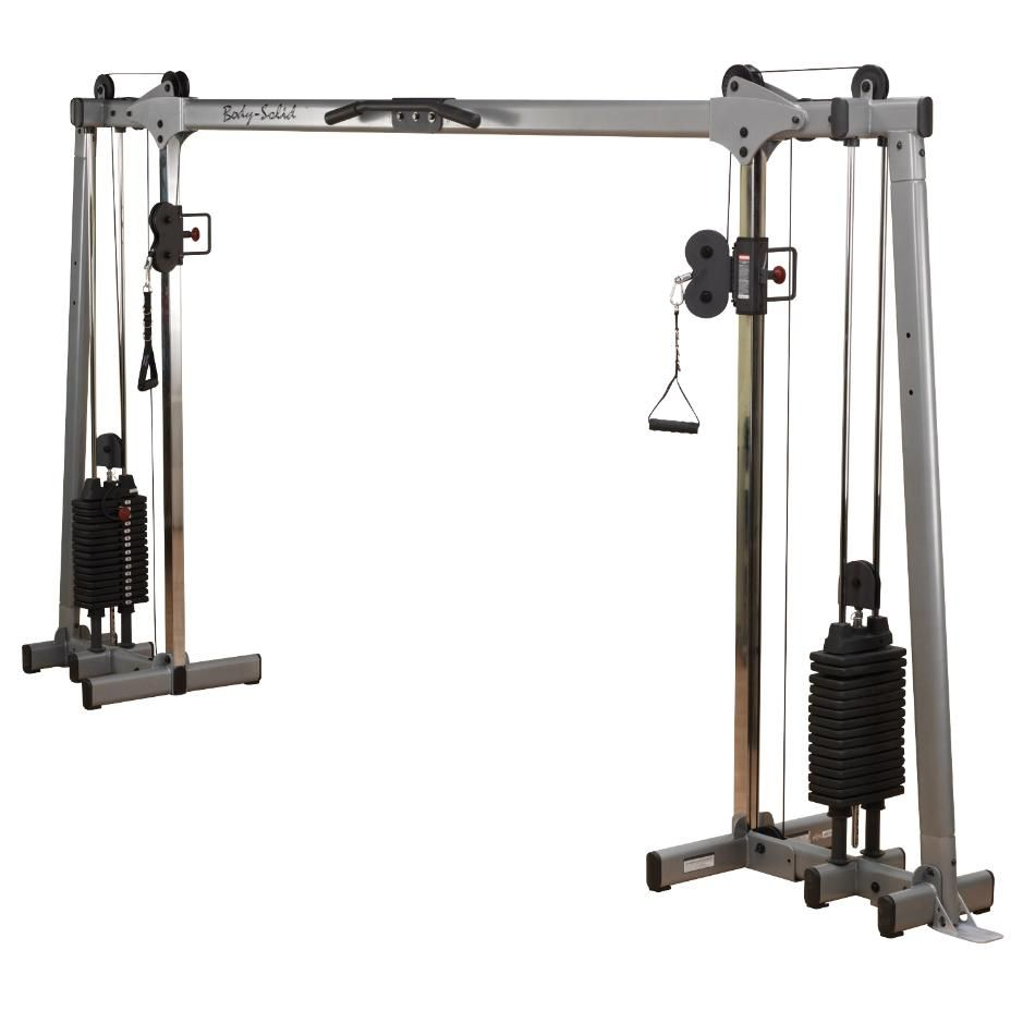 Кроссовер с двумя весовыми стеками по 72,5 кг