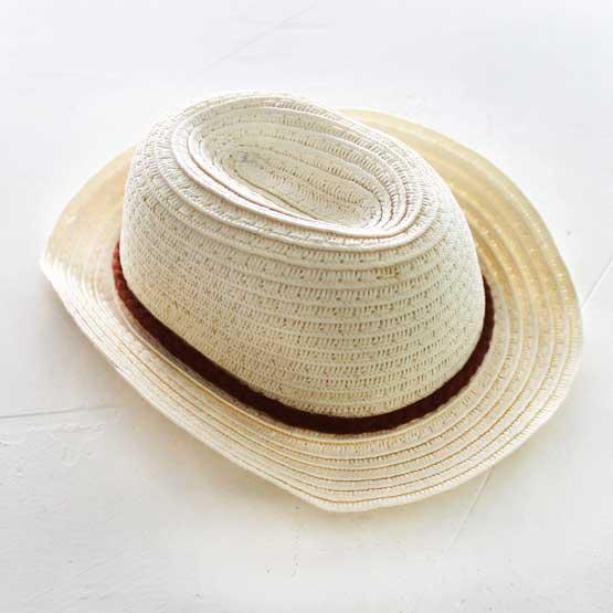 Кукольный аксессуар - шляпка - соломка