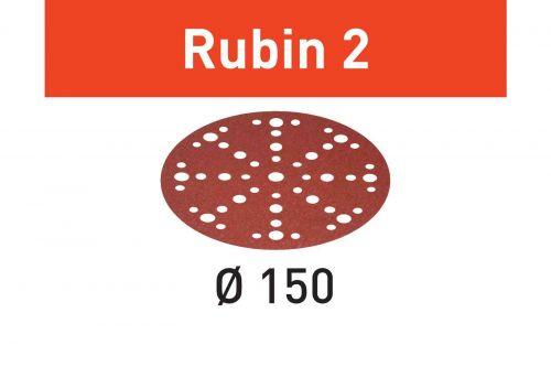 Шлифовальные круги STF D150/48 P120 RU2/50 Rubin 2