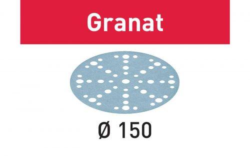 Шлифовальные круги STF D150/48 P500 GR/100 Granat