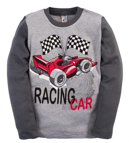 Лонгслив для мальчиков 2-5 лет BABY STYLE Racing Car