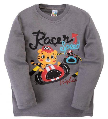 Лонгслив для мальчиков 1-4 лет BABY STYLE Racer Speed
