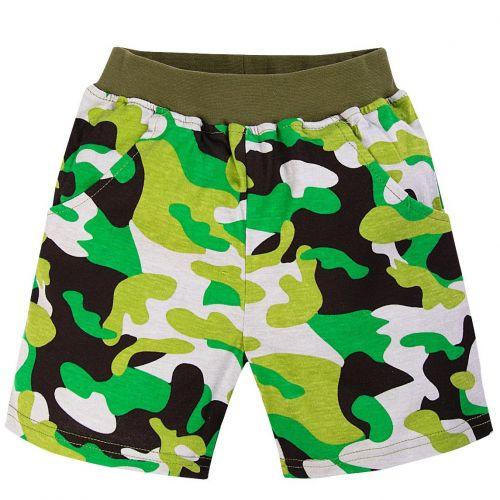 шорты камуфляж для мальчиков 6-9 лет BABY STYLE