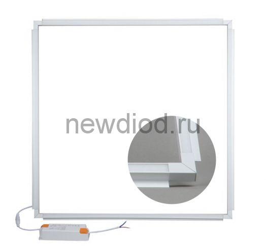 Светильник-рамка светодиодный потолочный REFRAME WHITE 38W 4000K 595x595мм Uniel