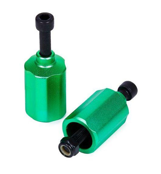 Пеги н-р (две пеги и две оси) цвет зеленый