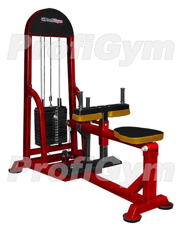 ТГ-023Р Станок для икроножных мышц сидя (стек70кг, нагрузка 210кг) серия Rubin