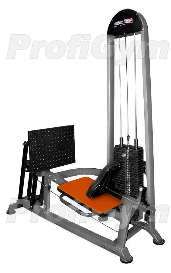 ТГ-0320-C Блочный тренажер для жима ногами горизонтальный (155 кг блок, 310 кг нагрузка) серия Classic