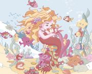 Sirena Панно (из 2-х штук) 40x50