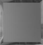 Квадратная зеркальная графитовая матовая плитка с фацетом 10мм КЗГм1-03 25х25