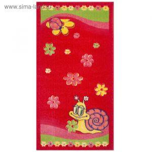 Ковёр детский Delta, размер 140х200 см, цвет красный   2721118