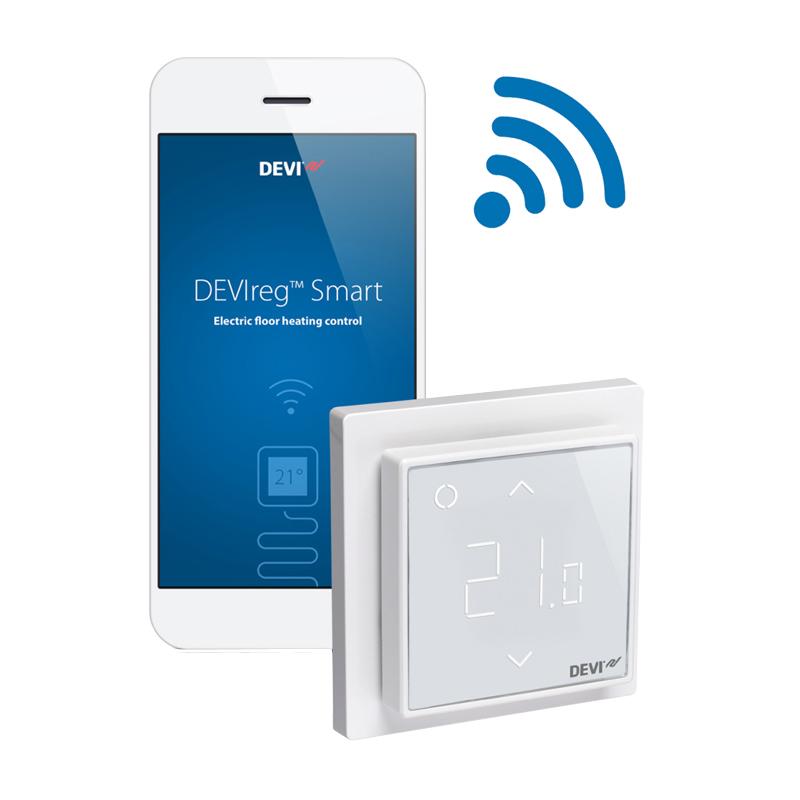 Терморегулятор DEVIreg Smart Pure White  Wi-Fi, 16 белый