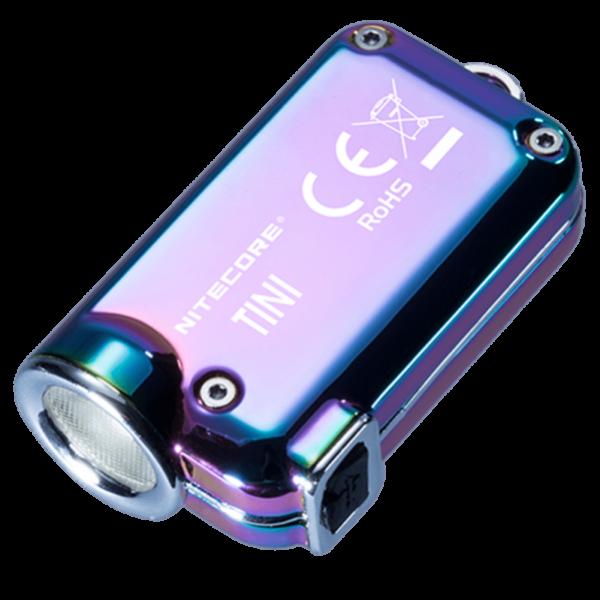 Мини-наключный фонарь Nitecore TINI SS Хамелеон