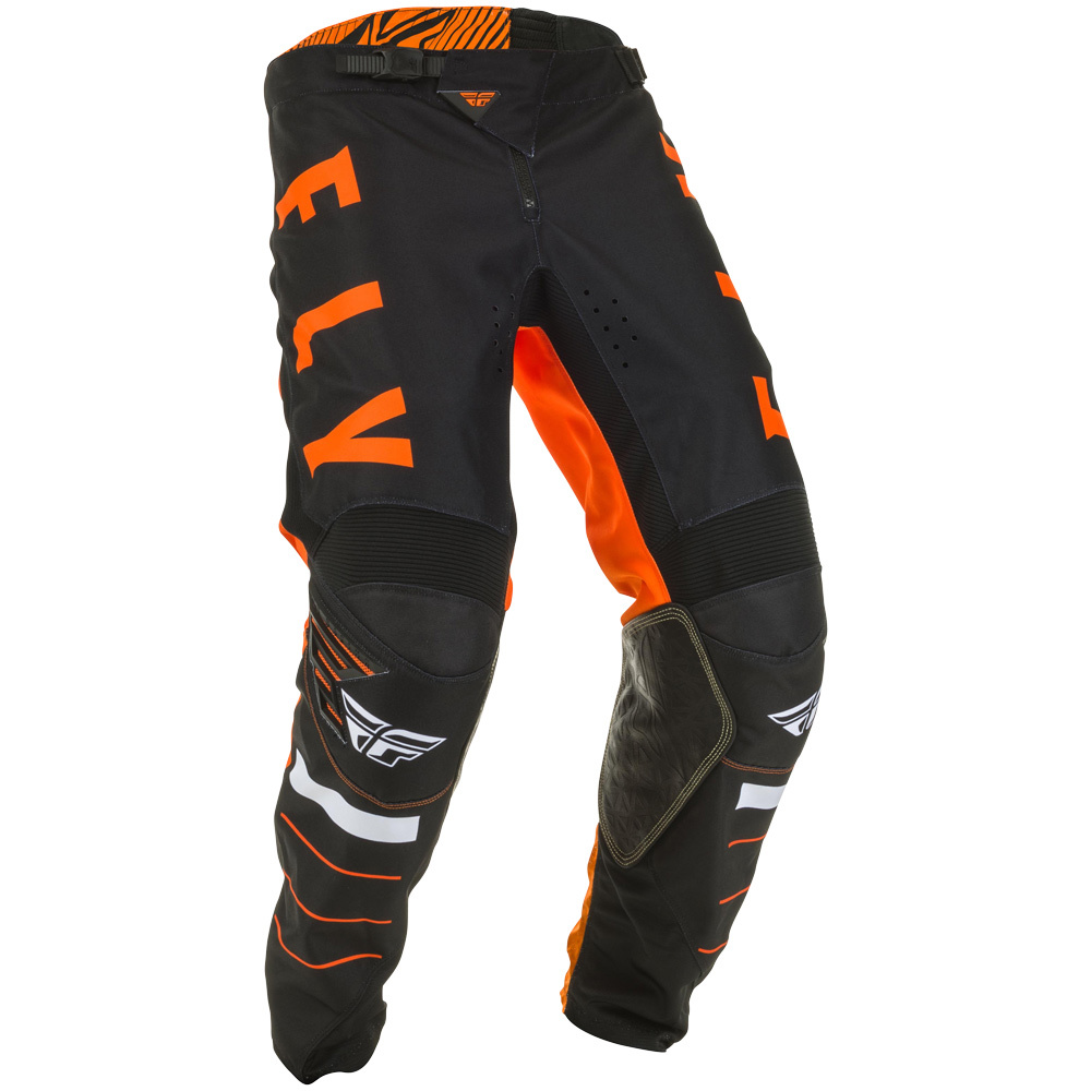 Fly - 2020 Kinetic K120 Orange/Black/White штаны, оранжево-черно-белые