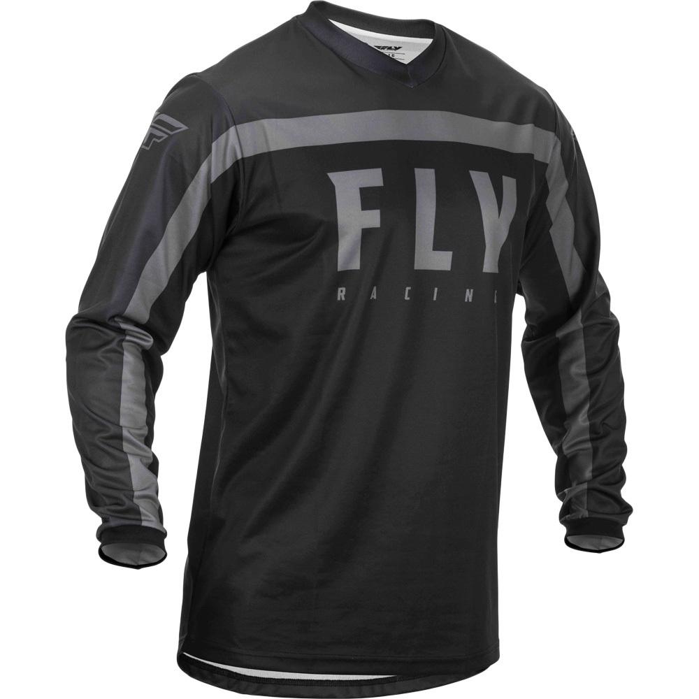 Fly - 2020 F-16 Black/Grey джерси, черно-серое