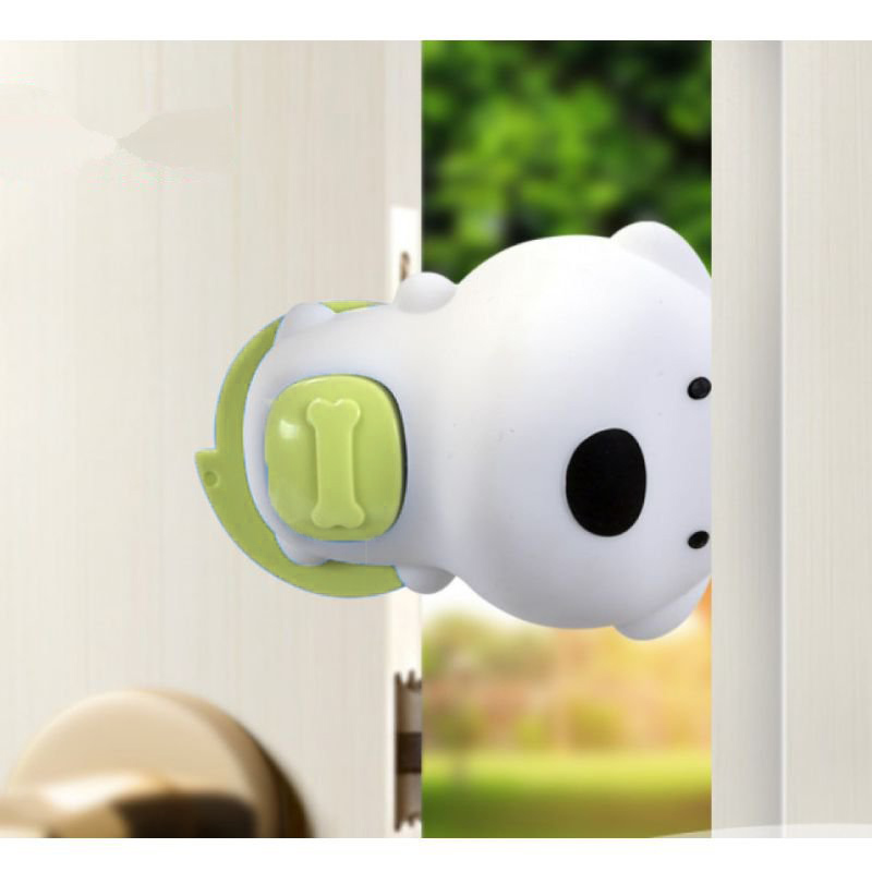 Детский Ограничитель Для Двери Beideli Cute Dog Door File, Цвет Зеленый