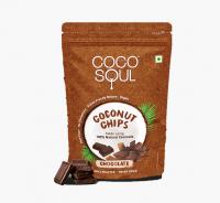Кокосовые чипсы Шоколад Коко Соул | Coco Soul Coconut Chips Chocolate