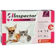 Инспектор Тотал mini Капли на холку для кошек и собак 0,5-2кг