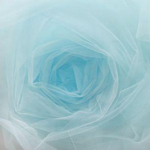 Мягкий фатин (еврофатин) 300х25 см- небесно-голубой