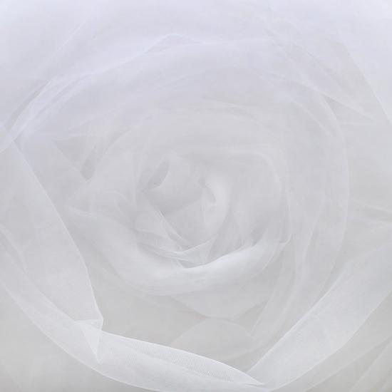 Мягкий фатин (еврофатин) 300х25 см  - белый