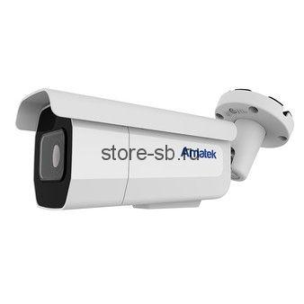 AC-IS806ZA (мото 3.6-11) Amatek Уличная цилиндрическая IP камера, обьектив 3,6-11 mm, ИК, POE, 8Мп, 1 аудиовход, выход для питания микрофона 12В / 0,1А