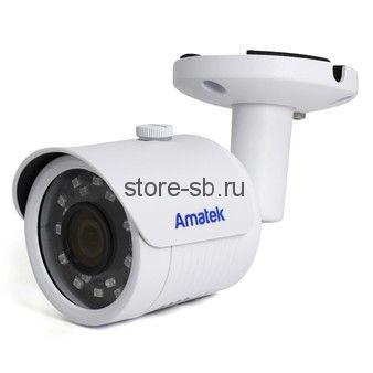 AC-IS203AS (2,8) Amatek Уличная IP видеокамера, 2Mp, Ик, POE