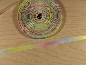 `Атласная лента с рисунком, градиент №1, ширина 09 мм, Арт. Р-АЛР0019-09-1