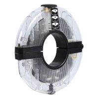 Велосипедный осевой концентратор света Ufo Bicycle Hug Light (5)