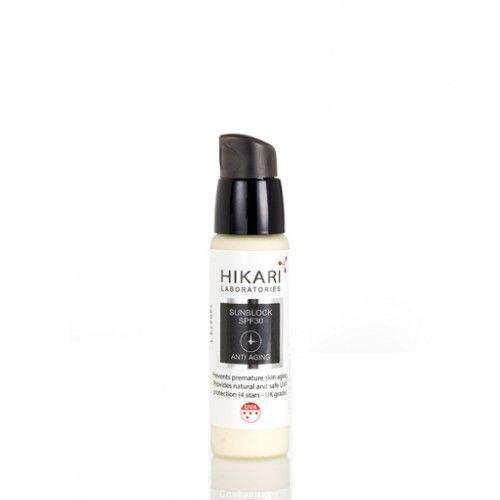 Солнцезащитный крем SPF30 Cream Hikari (Хикари) 30 мл