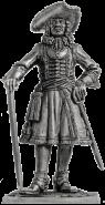 Штаб-офицер Преображенского полка, 1698-1700 гг. Россия