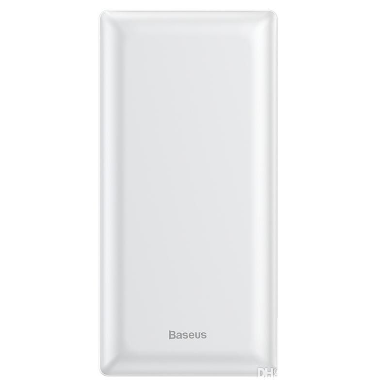 Внешний аккумулятор Baseus Mini JA Fast charge power bank 3A 20000mAh (PPJAN-B01, PPJAN-B02) White