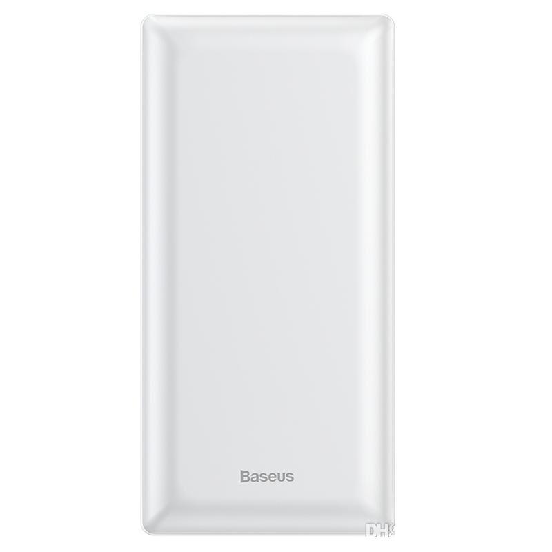 Внешний аккумулятор Baseus Mini JA Fast charge power bank 3A 20000mAh (PPJAN-B01, PPJAN-B02) White