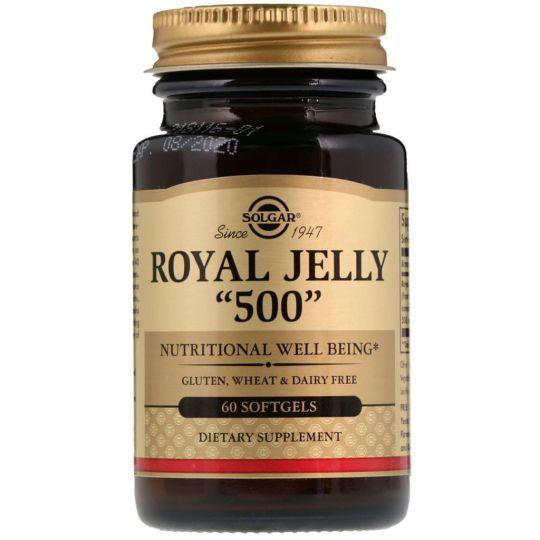 Royal Jelly Маточное молочко 500 мг, 60 капсул