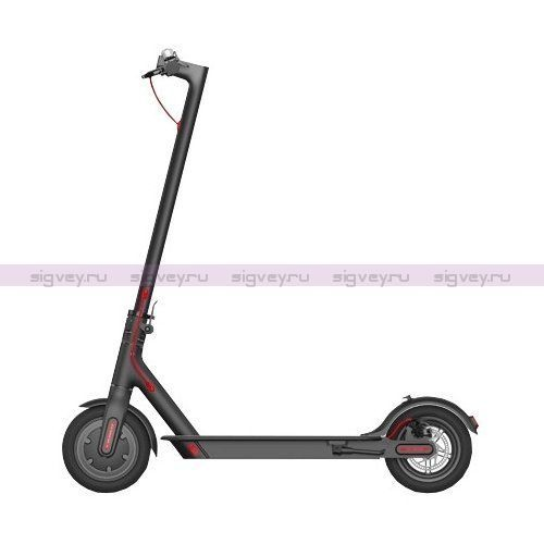 Электросамокат Xiaomi Mijia Electric Scooter (M 365) Черный