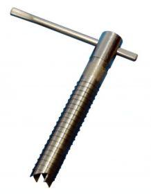 Ввёртыш (200 мм,нержавеющая сталь) подвижная ручка