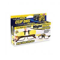 Антибликовые очки для водителей Night View Clip Ons (5)