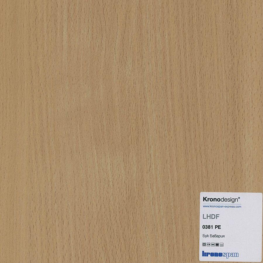 ЛХДФ 0381 PR;PE Бук Бавария PE 2800*2070*3,2 мм