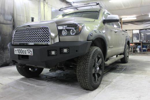 Бампер силовой передний Toyota Tundra 2006-2013