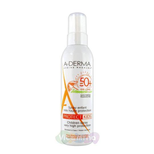 A-Derma Protect Cолнцезащитный спрей для детей SPF50+ 200 мл