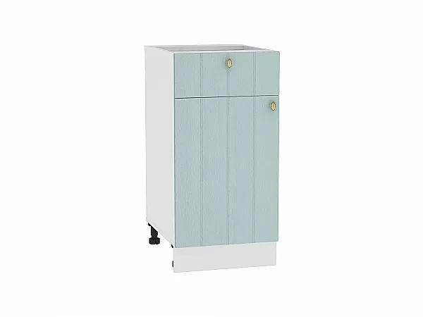 Шкаф нижний Прованс Н401 (голубой)
