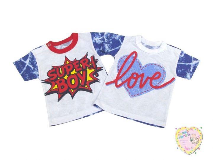 Футболка B-FT025(2)-SUk (super boy, love)