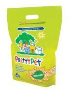 PrettyPet Наполнитель для грызунов осиновые гранулы, 6 л,