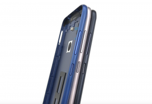 Задняя крышка Asus ZB633KL ZenFone Max (M2) (blue) Оригинал
