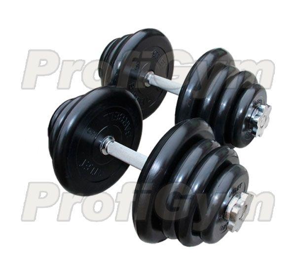 ГРРА-45 Гантель разборная обрезиненная Антат 45 кг