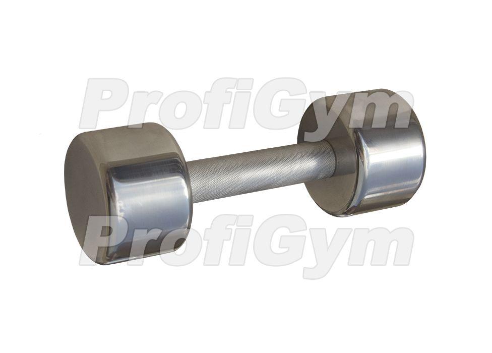 ГНХ-7,5 Гантель хромированная «PROFIGYM» 7,5 кг