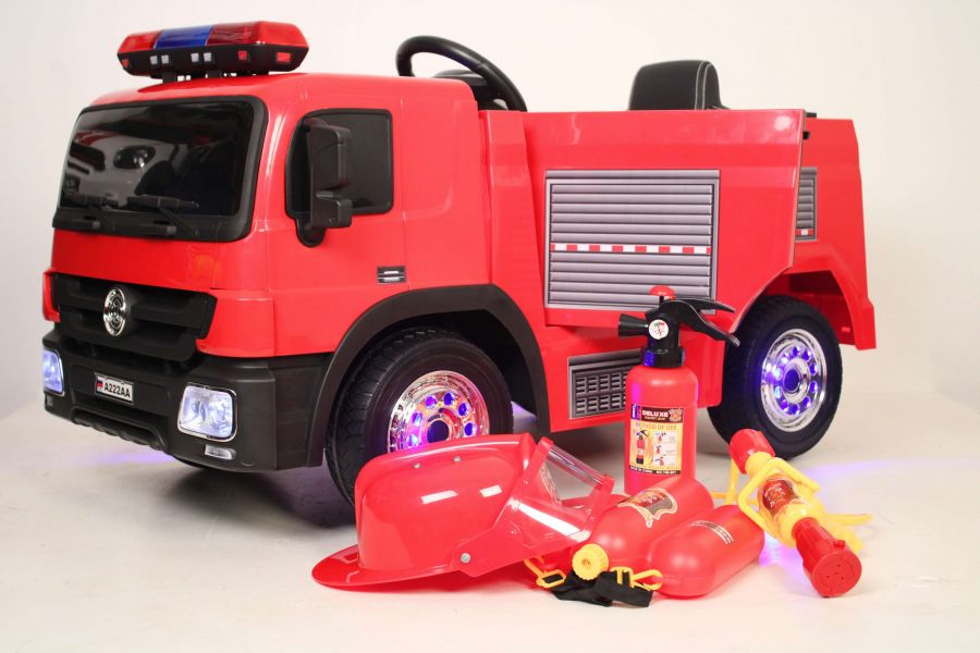 Детский электромобиль Пожарная машина A222AA