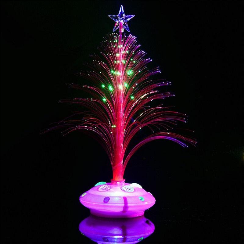 Светящаяся LED Елочка, 32 См, Цвет Розовый