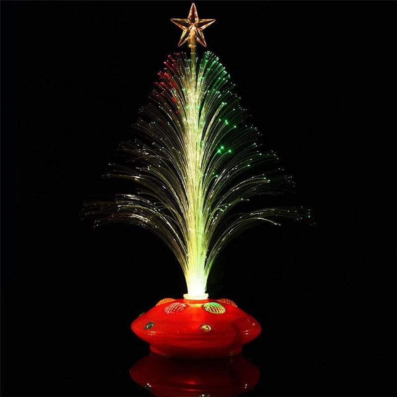 Светящаяся LED Елочка, 32 См, Цвет Оранжевый