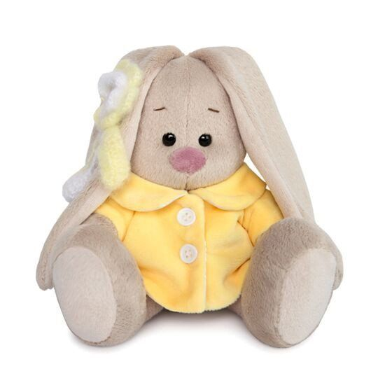 Зайка Ми в желтом меховом пальто малыш SidX-265