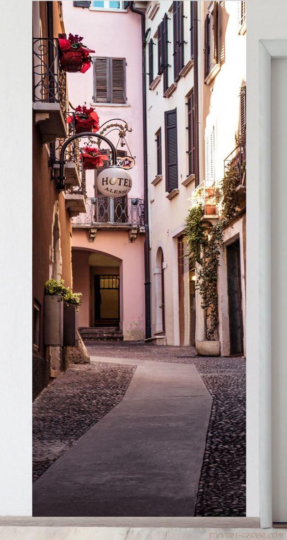 Панно на стену - Тихая улица