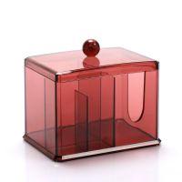 Акриловый контейнер для хранения мелочей Multi-Functional Storage Box QFY-3125, цвет бордовый (4)